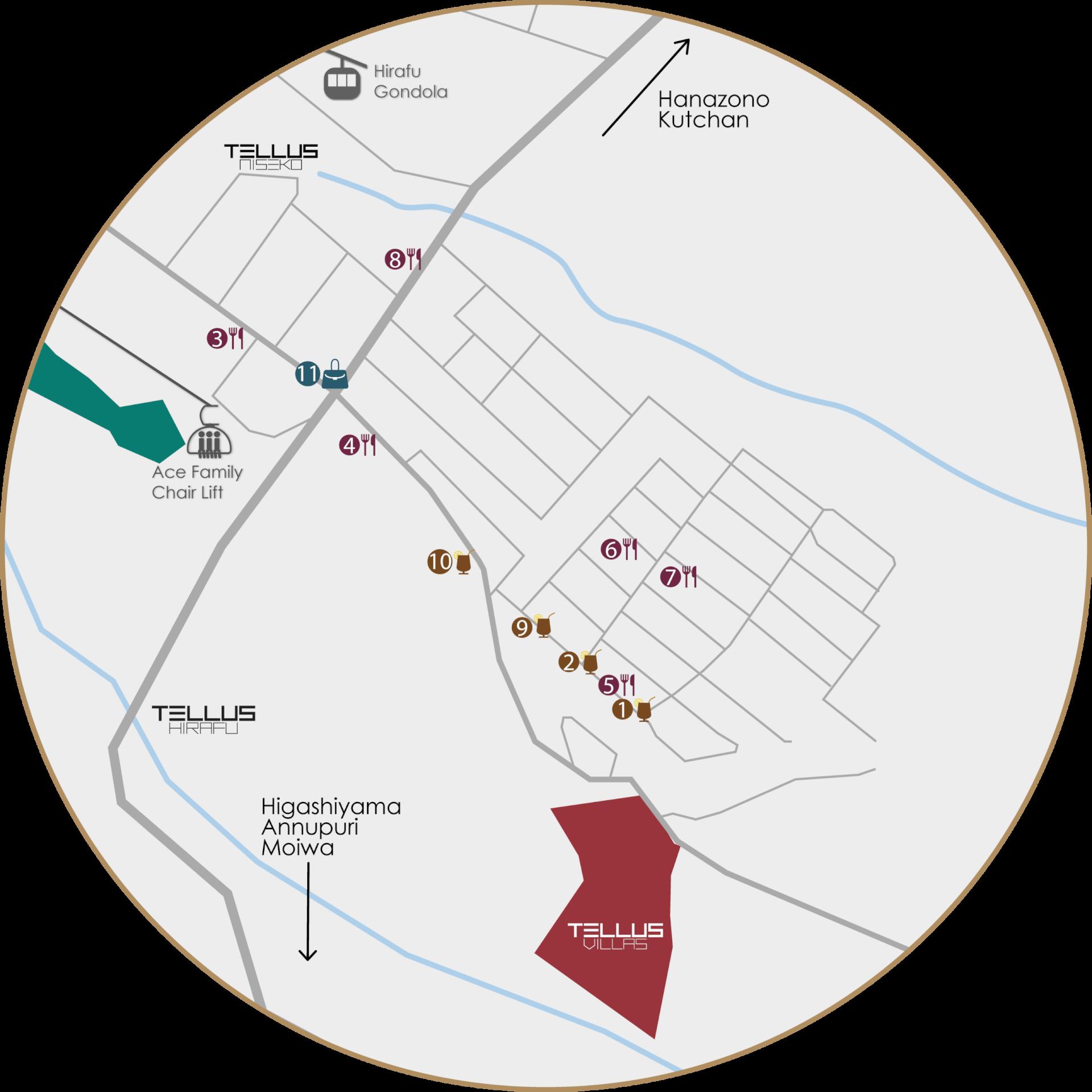 特勒斯别墅 Map-03